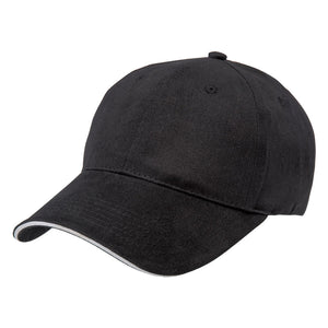 The Premium Sandwich Cap | Adults | Black/White