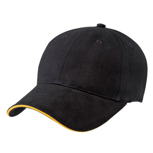 The Premium Sandwich Cap | Adults | Black/Gold