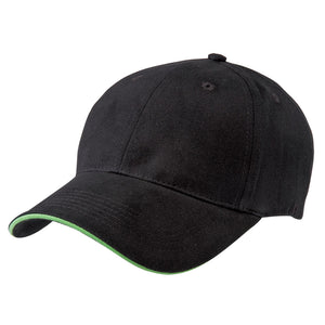 The Premium Sandwich Cap | Adults | Black/Lime