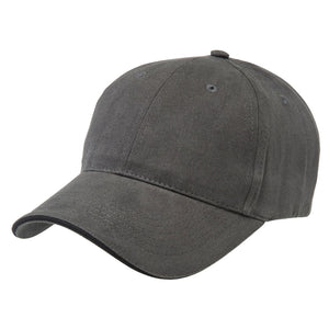 The Premium Sandwich Cap | Adults | Charcoal/Black