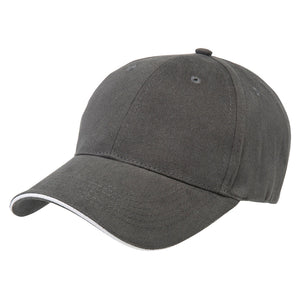 The Premium Sandwich Cap | Adults | Charcoal/White