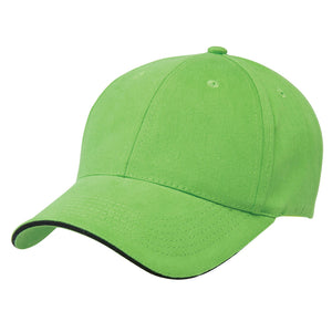 The Premium Sandwich Cap | Adults | Lime/Black