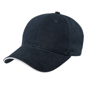 The Premium Sandwich Cap | Adults | Navy/White