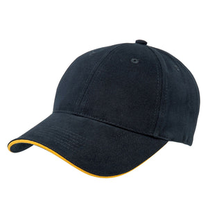 The Premium Sandwich Cap | Adults | Navy/Gold