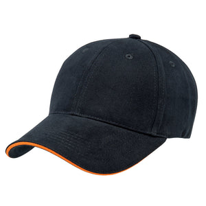 The Premium Sandwich Cap | Adults | Navy/Orange