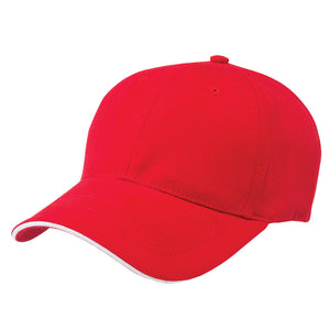 The Premium Sandwich Cap | Adults | Red/White