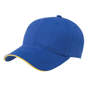 The Premium Sandwich Cap | Adults | Royal/Gold
