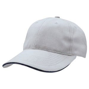The Premium Sandwich Cap | Adults | Silver/Navy