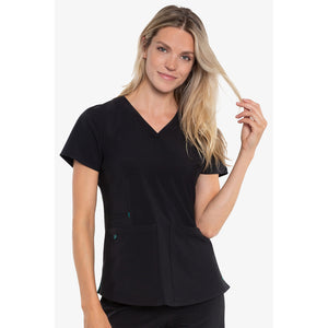 Energy Racer Back Top | Black