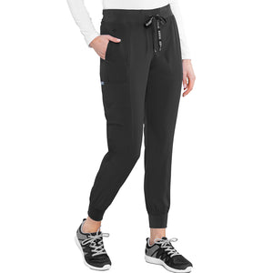 Seamed Jogger | Black