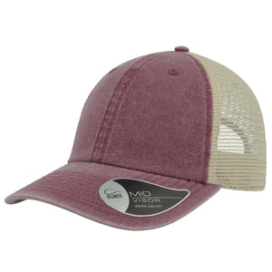 The Case Trucker | Atlantis | Burgundy/Stone