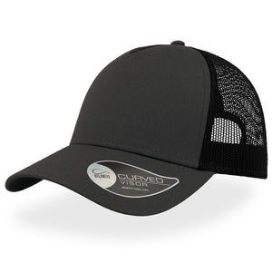 The Rapper Cotton Cap | Grey/Black
