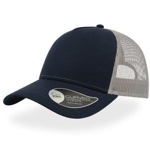 The Rapper Cotton Cap | Navy/Grey