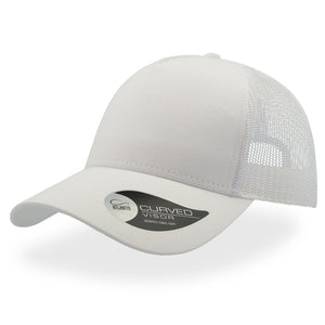 The Rapper Cotton Cap | White