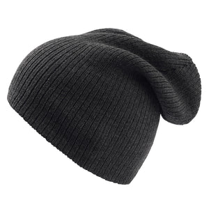 The Brad Beanie | Atlantis | Black Melange