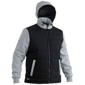 Flex and Move Puffer Fleece Jacket | Black | House of Uniforms