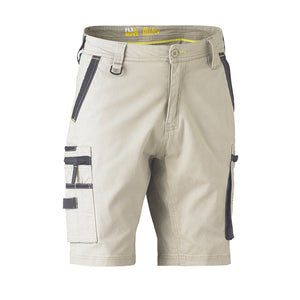 Flex and Move Utility Short | Stone