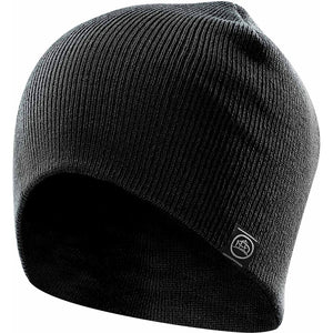 The Tundra Knit Beanie | Black