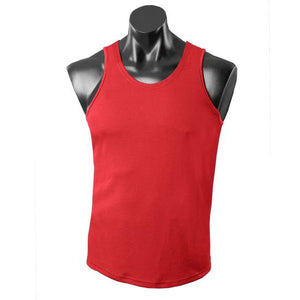 The Botany Singlet | Mens | Red