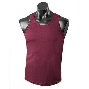 The Botany Singlet | Mens | Maroon