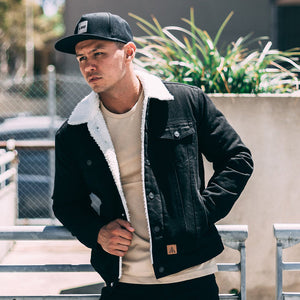 Bad Workwear | Sherpa Jacket | Black