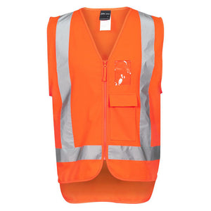 Hi Vis TTMC Zip Vest | Orange