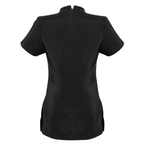 The Spa Tunic | Ladies | Short Sleeve | Black