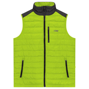 Bad Workwear | Quilted Vest | Yellow