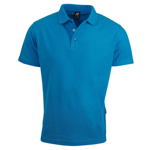 The Hunter Polo | Mens | Short Sleeve | Cyan