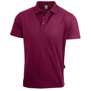 The Hunter Polo | Mens | Short Sleeve | Maroon
