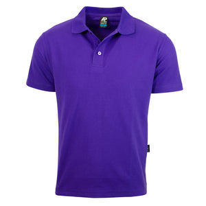 The Hunter Polo | Mens | Short Sleeve | Purple