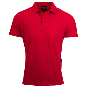 The Hunter Polo | Mens | Short Sleeve | Red