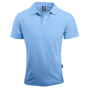 The Hunter Polo | Mens | Short Sleeve | Sky