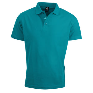 The Hunter Polo | Mens | Short Sleeve | Teal