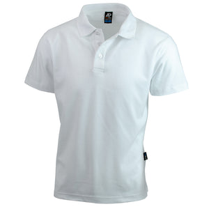 The Hunter Polo | Mens | Short Sleeve | White