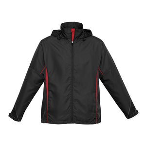The Razor Jacket | Adults | Black/Red