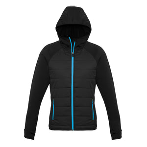 The Stealth Jacket | Ladies | Black/Cyan