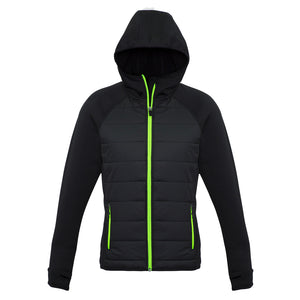 The Stealth Jacket | Ladies | Black/Lime