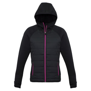 The Stealth Jacket | Ladies | Black/Magenta