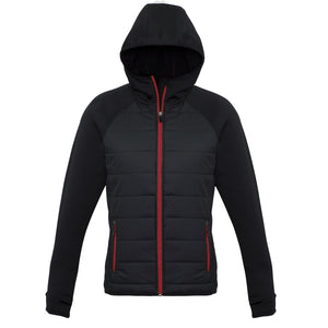 The Stealth Jacket | Ladies | Black/Red