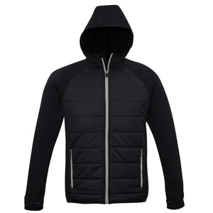The Stealth Jacket | Mens | Black/Silver