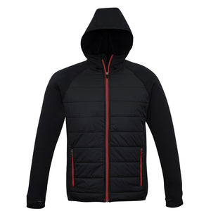The Stealth Jacket | Mens | Black/Red