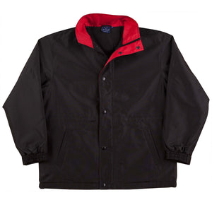 The Stadium Jacket | Adults | Black/Red