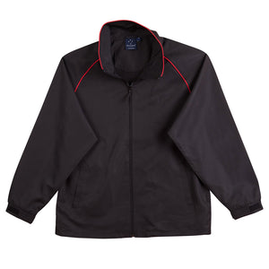 The Champion Jacket | Adults | Black/Red