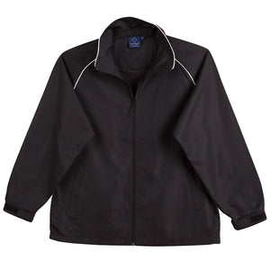 The Champion Jacket | Adults | Black/White