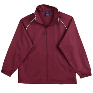 The Champion Jacket | Adults | Maroon/White