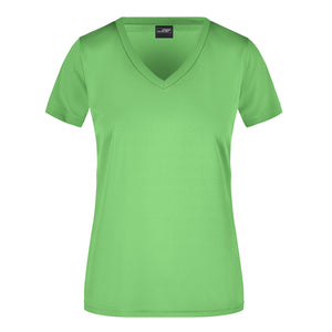 V Neck Active Tee | Lime
