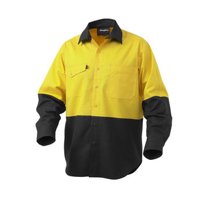 Work Cool 2 Spliced Shirt | Yellow/Black