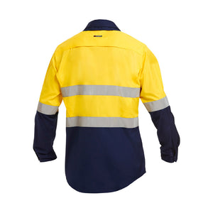 Work Cool 2 Reflective Shirt | Yellow/Navy