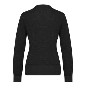 The Origin Knit | Ladies | Cardigan | Black/Charcoal
